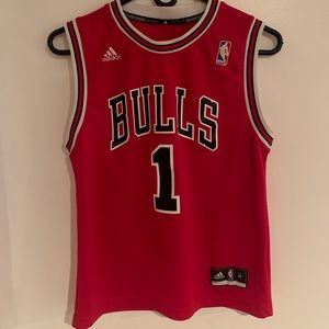 Adidas Chicago Bulls D Rose Jersey